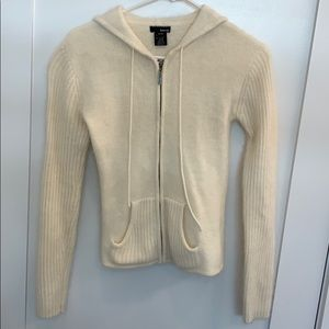 Kenzie Angora Sweater Hoodie